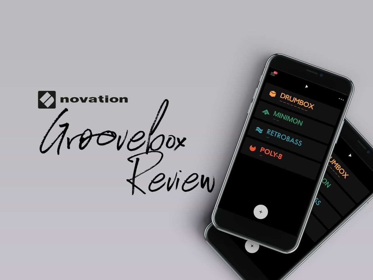 音楽制作アプリGroovebox(グループボックス)使い方