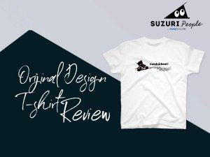 SUZURI(スズリ)でオリジナルデザインTシャツやパーカーの作り方レビュー