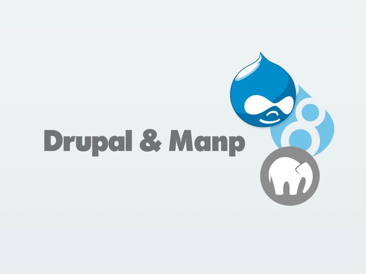 Drupal8(ドルーパル8)MANPでローカル環境の構築方法